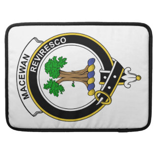 Insignia del clan de MacEwan Fundas Para Macbooks