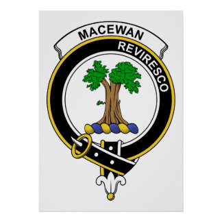 Insignia del clan de MacEwan Impresiones