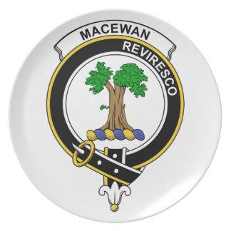Insignia del clan de MacEwan Plato De Comida