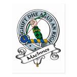 Insignia del clan de MacInnes Postal