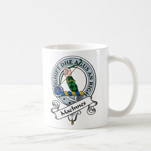 Insignia del clan de MacInnes Tazas De Café