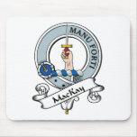 Insignia del clan de MacKay Alfombrillas De Raton