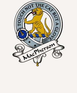 Insignia del clan de MacPherson Poleras