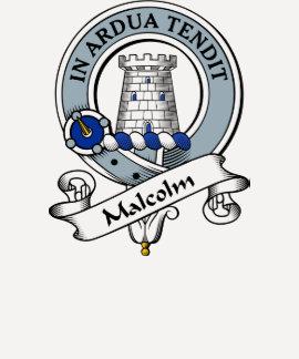 Insignia del clan de Malcolm MacCullum Camisetas