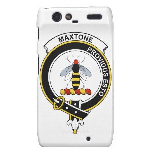 Insignia del clan de Maxtone Motorola Droid RAZR Fundas