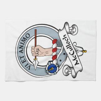 Insignia del clan de McCulloch Toalla
