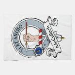 Insignia del clan de McCulloch Toallas De Mano
