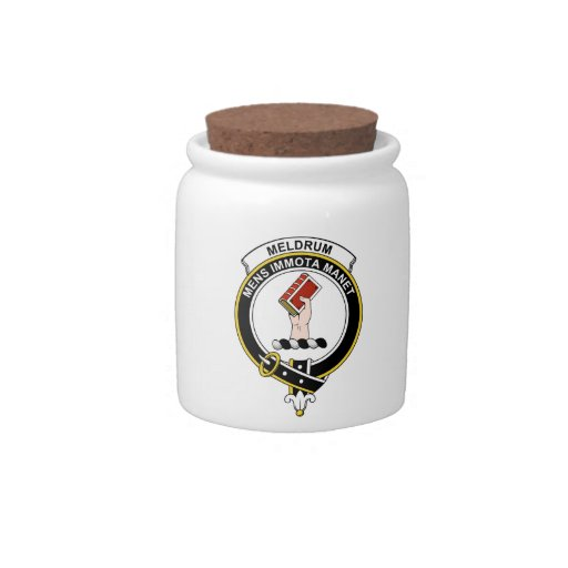 Insignia del clan de Meldrum Jarras Para Caramelos