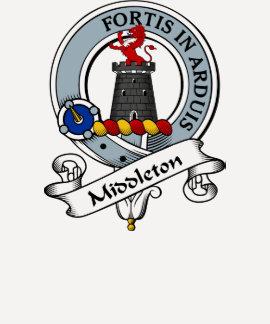 Insignia del clan de Middleton Camisetas