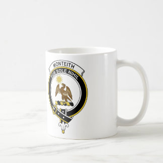 Insignia del clan de Monteith Tazas De Café