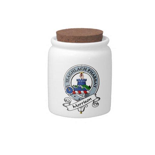 Insignia del clan de Morrison Platos Para Caramelos