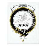 Insignia del clan de Nevoy Invitación 16,5 X 22,2 Cm
