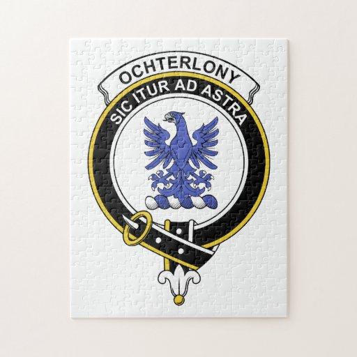 Insignia del clan de Ochterlony Rompecabeza