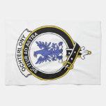 Insignia del clan de Ochterlony Toallas