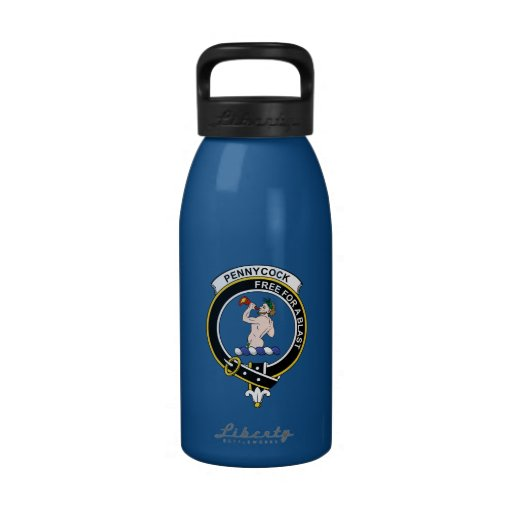Insignia del clan de Pennycook Botellas De Agua Reutilizables