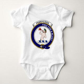 Insignia del clan de Pennycook Body Para Bebé