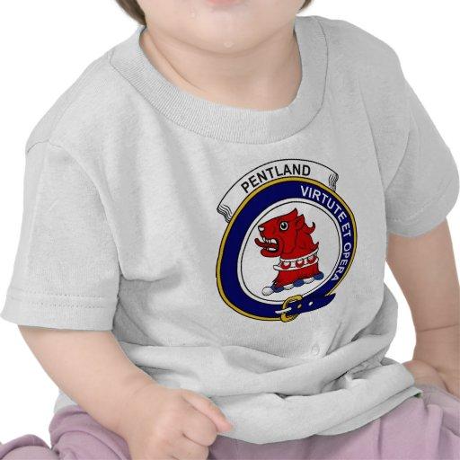 Insignia del clan de Pentland Camisetas