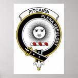 Insignia del clan de Pitcairn Posters