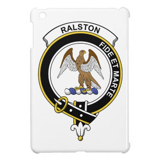 Insignia del clan de Ralston iPad Mini Protector