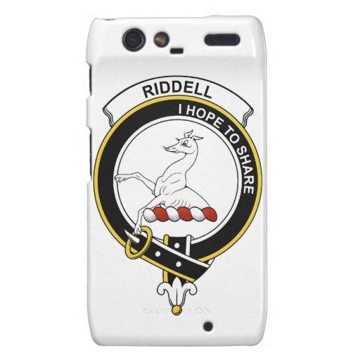 Insignia del clan de Riddell Motorola Droid RAZR Carcasas