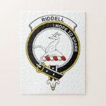 Insignia del clan de Riddell Rompecabezas Con Fotos