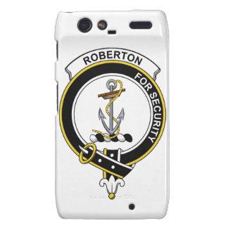 Insignia del clan de Roberton Motorola Droid RAZR Carcasa