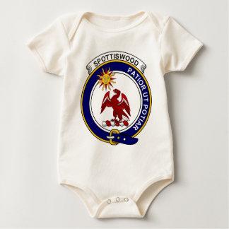 Insignia del clan de Spottiswood Trajes De Bebé