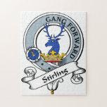 Insignia del clan de Stirling Rompecabezas Con Fotos