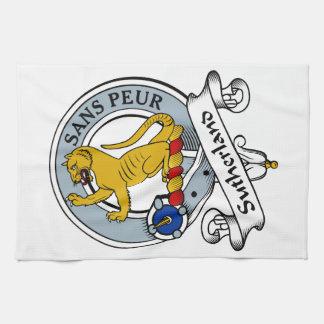 Insignia del clan de Sutherland Toallas De Mano
