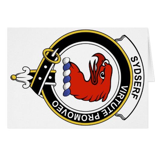 Insignia del clan de Sydserf Felicitacion