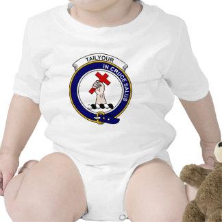 Insignia del clan de Tailyour (o Taylor) Trajes De Bebé