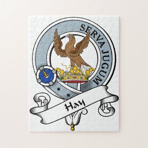 Insignia del clan del heno puzzles con fotos