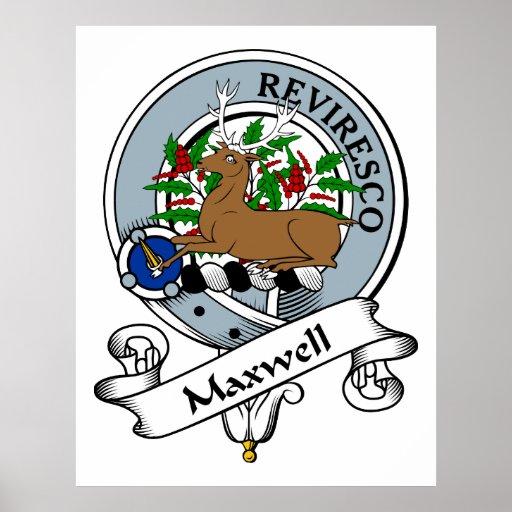 Insignia del clan del maxwell impresiones