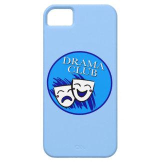 Insignia del club del drama: Chapoteo de azules Funda Para iPhone 5 Barely There