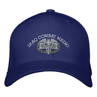 Insignia del combate y gorra médicos de la cinta gorras bordadas