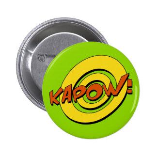 Insignia del cómic de Kapow Pin