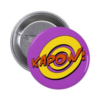Insignia del cómic de Kapow Pins