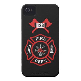 Insignia del cuerpo de bomberos Case-Mate iPhone 4 coberturas