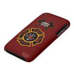 Insignia del cuerpo de bomberos Case-Mate iPhone 3 carcasa