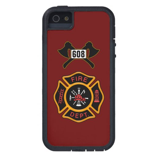 Insignia del cuerpo de bomberos iPhone 5 Case-Mate coberturas