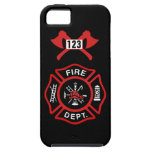 Insignia del cuerpo de bomberos iPhone 5 Case-Mate carcasa