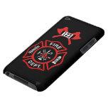 Insignia del cuerpo de bomberos iPod touch carcasas