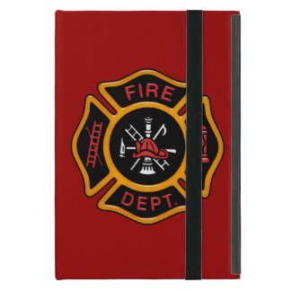 Insignia del cuerpo de bomberos iPad mini funda