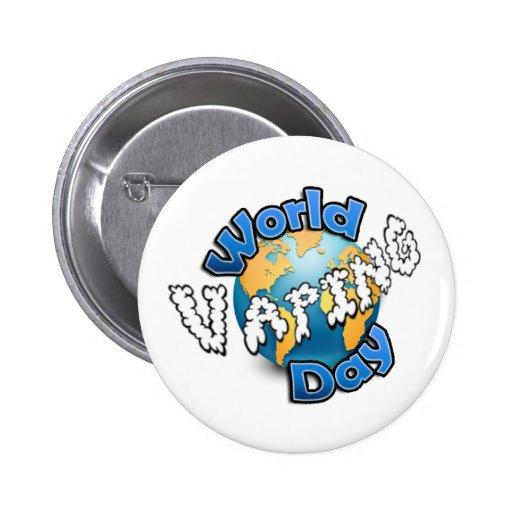Insignia del día de Vaping del mundo Pins