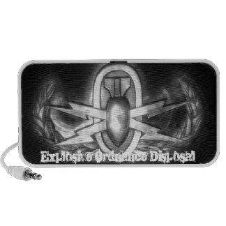 Insignia del EOD iPod Altavoz
