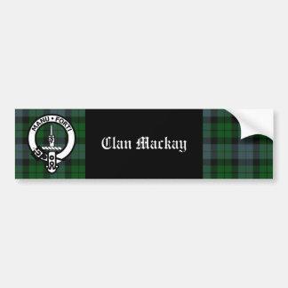 Insignia del escudo de Mackay del clan y pegatina  Pegatina Para Auto