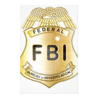 Insignia del FBI Personalized Stationery