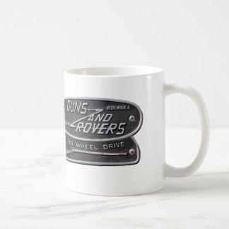 Insignia del foro de los armas y de los vagabundos tazas de café