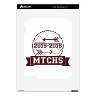 Insignia del inconformista de MTCHS Calcomanía Para El iPad 2