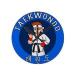 insignia del individuo del Taekwondo Relojes
